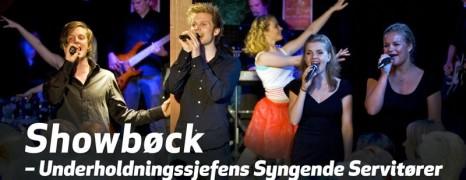 Syngende Servitører – et herlig dinner show